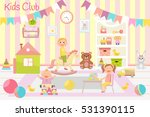 Kids Club Vector Illustration....
