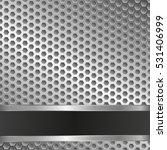 metallic background with grate   Shutterstock .eps vector #531406999