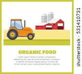 organic products. agriculture... | Shutterstock .eps vector #531410731