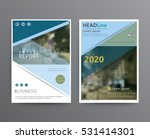business template for brochure  ... | Shutterstock .eps vector #531414301