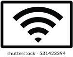 free wifi symbol   Shutterstock .eps vector #531423394