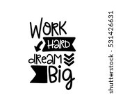 vector poster with phrase decor ... | Shutterstock .eps vector #531426631