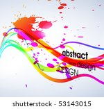 abstract colorful background.... | Shutterstock .eps vector #53143015
