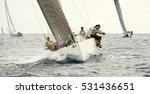 Sailing. Sailing Yacht Race....