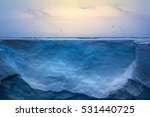 Glaciers Of Polar Caps Of The...
