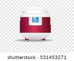 slow cooker   Shutterstock .eps vector #531453271