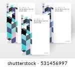 geometric background template... | Shutterstock .eps vector #531456997