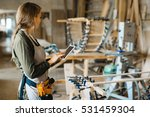 self employed joiner | Shutterstock . vector #531459304