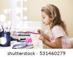 beautiful little girl in the... | Shutterstock . vector #531460279