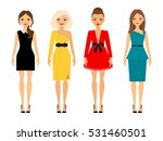 beautiful women in different... | Shutterstock .eps vector #531460501
