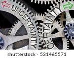 macro photo of tooth wheel...   Shutterstock . vector #531465571