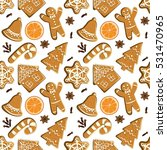 seamless pattern with... | Shutterstock .eps vector #531470965