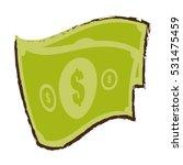 money bills cash dollar sketch... | Shutterstock .eps vector #531475459