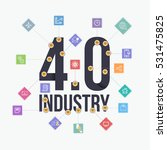 industry 4.0 concept business... | Shutterstock .eps vector #531475825