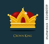 pope or king crown or tiara.  | Shutterstock .eps vector #531480559