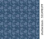 seamless denim jeans pattern... | Shutterstock . vector #531498199