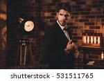 brutal hansome businessman...   Shutterstock . vector #531511765