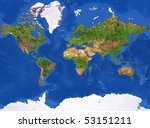 Planet Earth Texture. High...