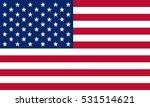 united states flag | Shutterstock .eps vector #531514621