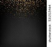golden light effect. star burst ... | Shutterstock .eps vector #531515464