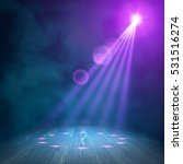 background in show. vector... | Shutterstock .eps vector #531516274