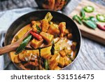butternut squash  pumpkin in... | Shutterstock . vector #531516475