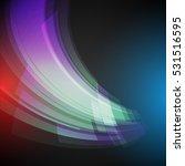 techno geometric vector  modern ... | Shutterstock .eps vector #531516595