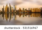 Panoramic View Dubai Marina Bay - Fine Art prints