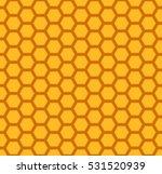 honeycomb  seamless pattern   Shutterstock .eps vector #531520939