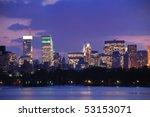 New York City Skyline At Dusk...