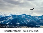 winter mountains panorama of... | Shutterstock . vector #531542455
