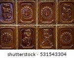 brown tile saple   Shutterstock . vector #531543304