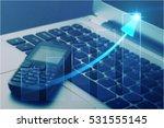telephone. | Shutterstock . vector #531555145