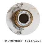 cup of coffee on background...   Shutterstock . vector #531571327