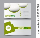 business card set template.... | Shutterstock .eps vector #531572689