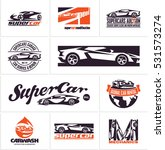 car logos  supercars icons  car ... | Shutterstock .eps vector #531573274