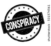 conspiracy stamp sign text word ... | Shutterstock . vector #531574561