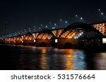 nightview of seongsandaegyo  | Shutterstock . vector #531576664