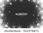 snow blizzard effect on... | Shutterstock .eps vector #531576871