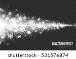 snow blizzard effect on...   Shutterstock .eps vector #531576874