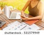 asian smile beautiful girl... | Shutterstock . vector #531579949