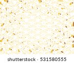 new year background of wave... | Shutterstock .eps vector #531580555