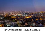 jerusalem old city night | Shutterstock . vector #531582871