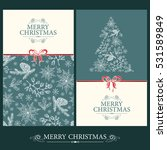 vector set. christmas and new... | Shutterstock .eps vector #531589849