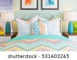vibrant colored interior... | Shutterstock . vector #531603265