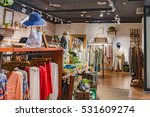 Stock photo clothing store clothes 531609274
