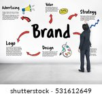 brand marketing strategy... | Shutterstock . vector #531612649