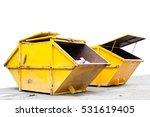 industrial waste bin  dumpster  ...   Shutterstock . vector #531619405