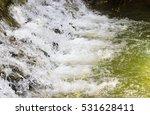waterfall form river soft focus ... | Shutterstock . vector #531628411