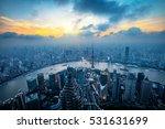 Shanghai Skyline City Scape ...